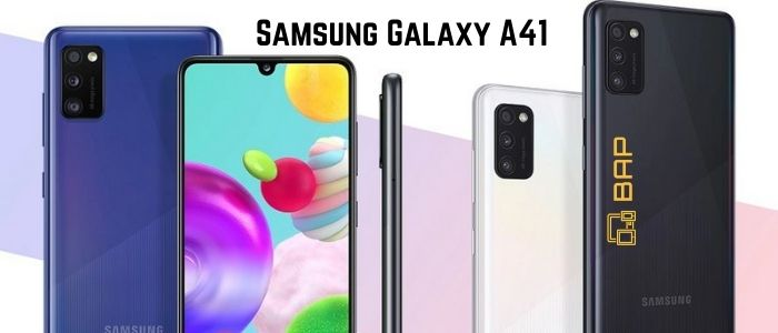Samsung Galaxy A41 Banner