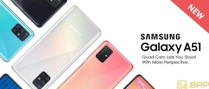 Samsung Galaxy A51 Banner